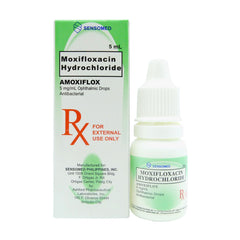 Rx: Amoxiflox 5 mg / ml Drops