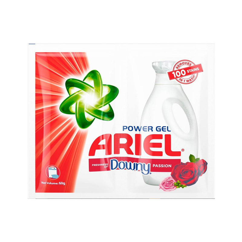 Ariel Power Gel with Downy Passion 60 g - 6s - Southstar Drug