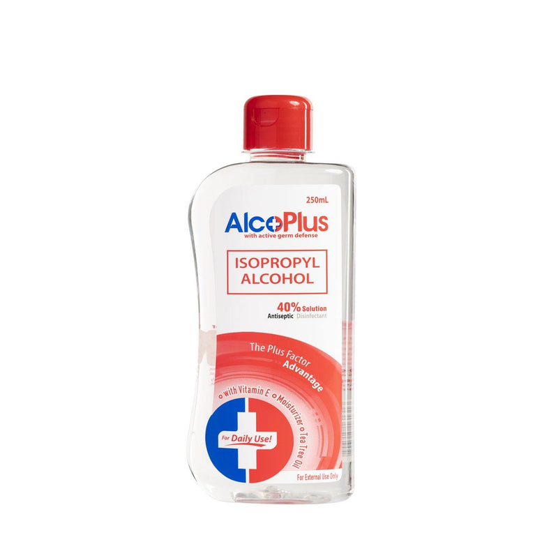 Alcoplus 40% Solution Isopropyl Alcohol 250 ml