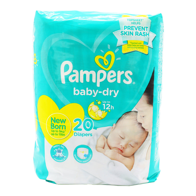 Pampers Baby Dry New Born - 20s