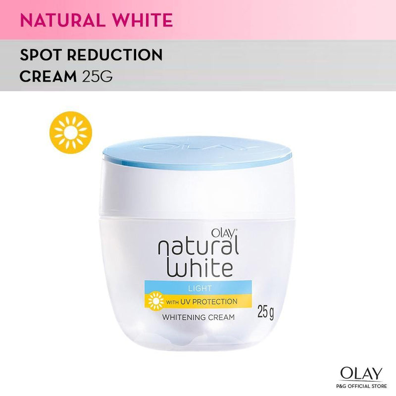 Olay Skin Natural White Light Day with UV Protection Whitening Cream 25 g - Southstar Drug