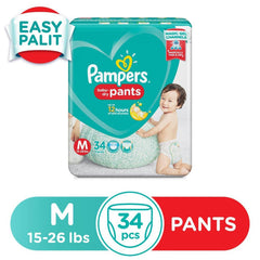 Pampers Baby Dry Diaper Pants Medium - 34s - Southstar Drug