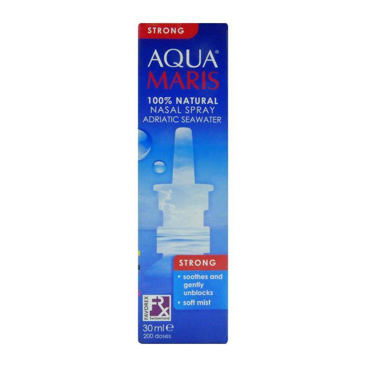 Aqua Maris Strong Adriatic Seawater 30 ml Nasal Spray