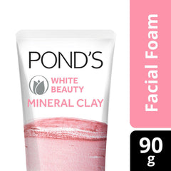 Pond's White Beauty Mineral Clay Facial Foam 90 g