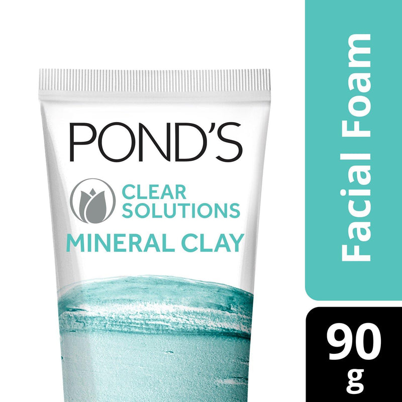 Pond's Clear Solutions Mineral Clay Facial Foam 90 g