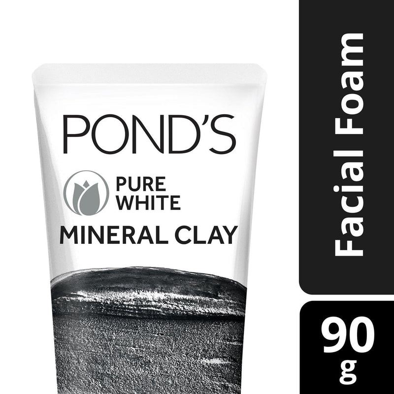 Pond's Pure White Mineral Clay Facial Foam 90 g