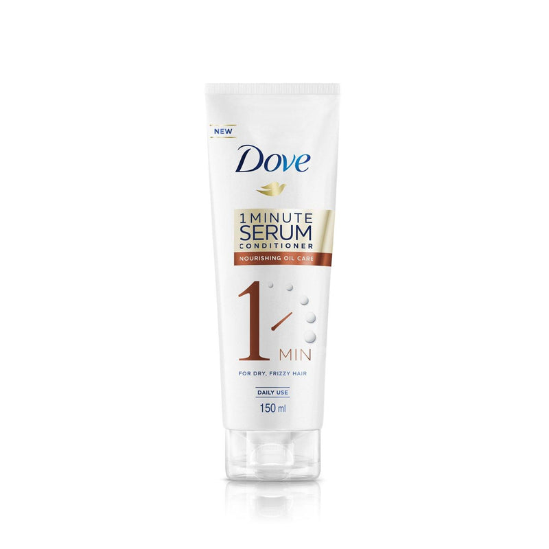 Dove 1 Minute Serum Conditioner Nourishing Oil Care 150ML