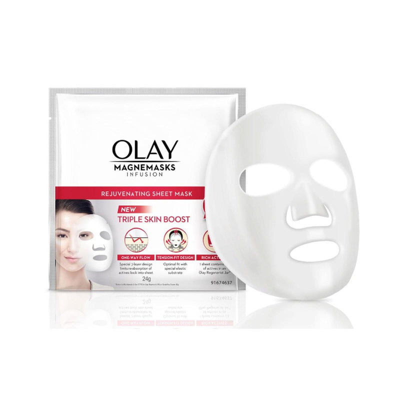 Olay Skin Magnemasks Infusion Rejuvenating Sheet Mask 24 g