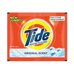 Tide Perfect Clean Origal Scent Powder 80 g - 6s - Southstar Drug