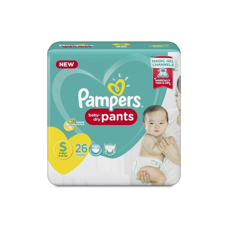Pampers Baby Dry Pants Diaper Small (S) - 24s - Southstar Drug