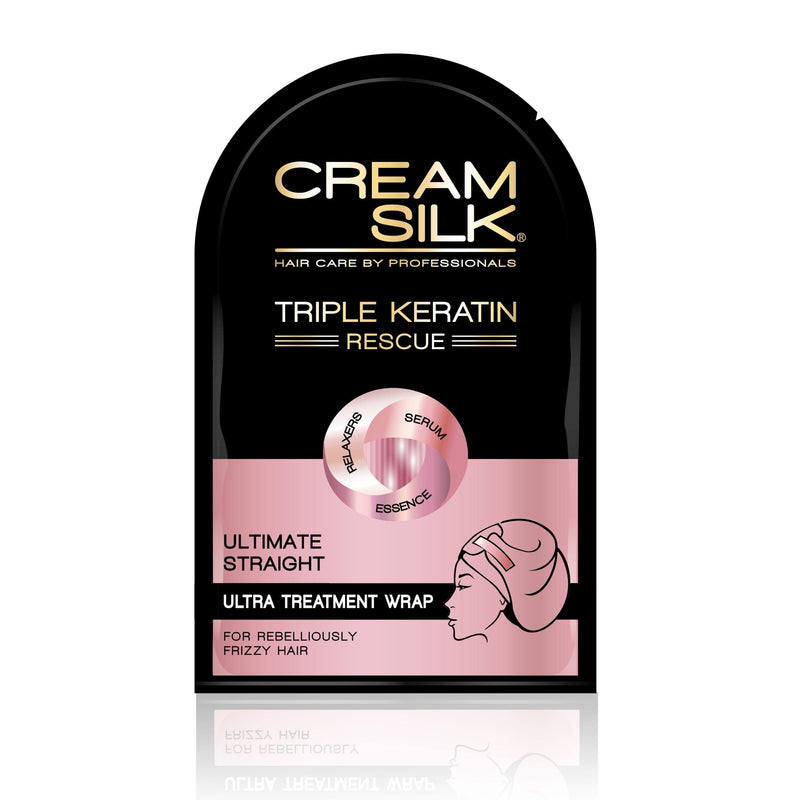 Creamsilk Triple Keratin Rescue Ultra Treatment Hair Wrap Ultimate Straight 25 ml