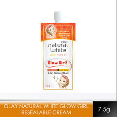 Olay Natural White Glow Girl Resealable Sachet 7.5 g