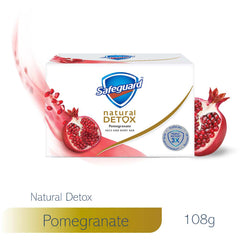 Safeguard Detox Face and Body Bar Pomegranate 108 g