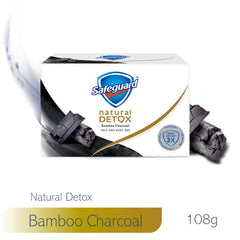 Safeguard Detox Face and Body Bar Charcoal 108 g