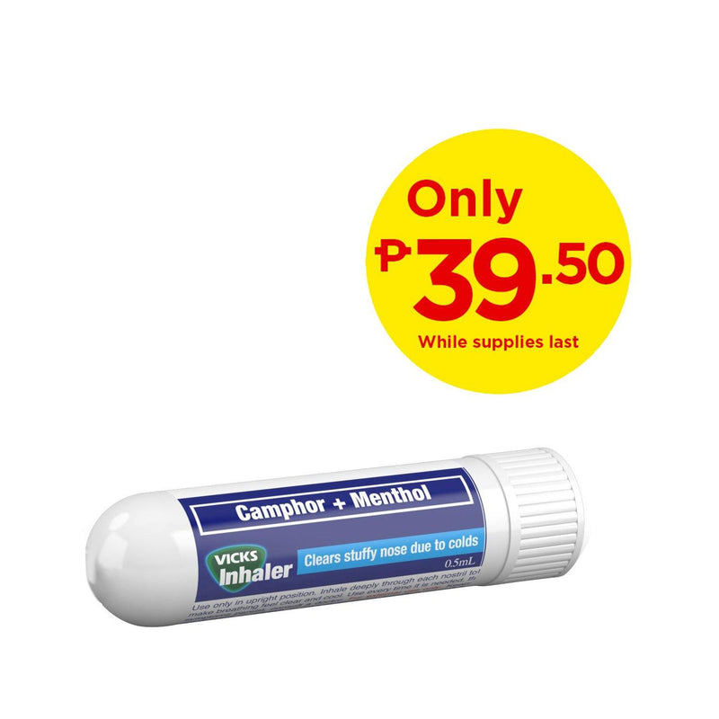 Vicks Inhaler 50% Off