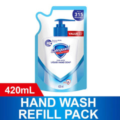 Safeguard Pure White Liquid Hand Soap Refill Pack 420 ml