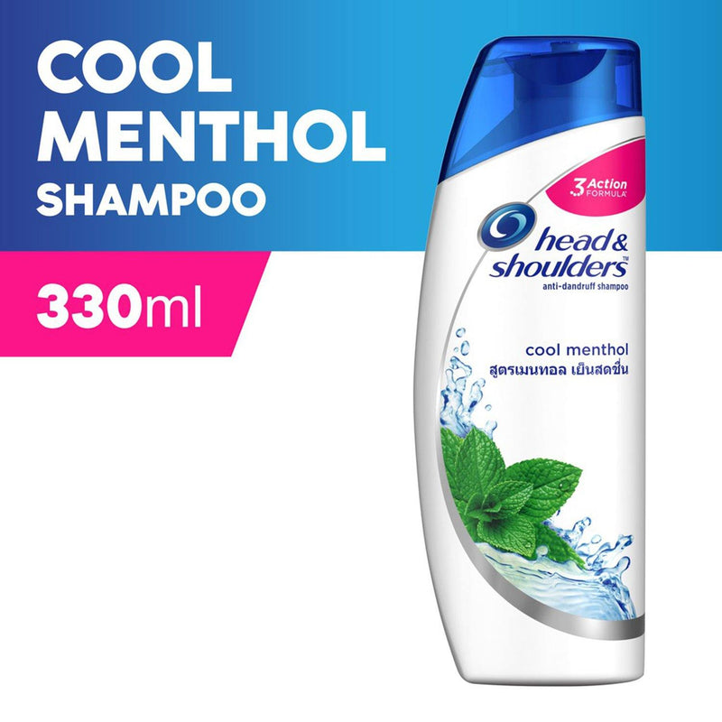 Head & Shoulders Cool Menthol Shampoo 330 ml