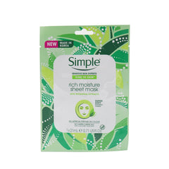 Simple Rich Moisture Sheet Mask 1 x 21 ml