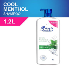 Head & Shoulders Cool Menthol Anti Dandruff Shampoo 1.2 Liter