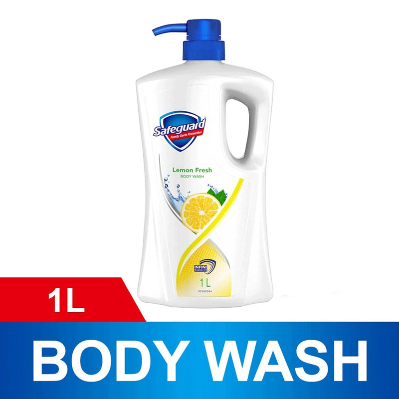 Safeguard Lemon Body Wash 1 liter