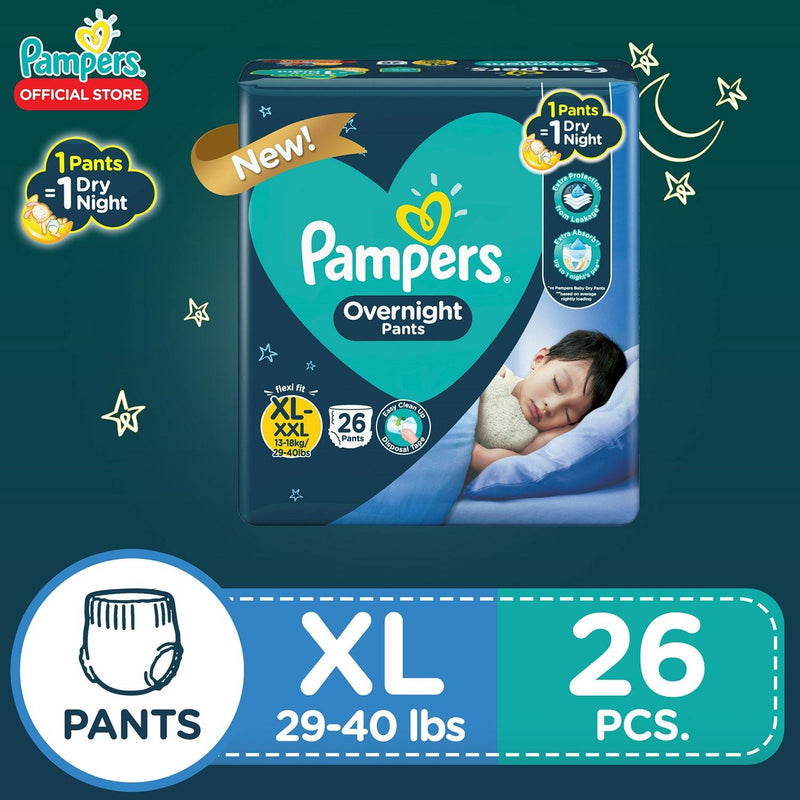 Pampers Overnight Pants Value XL 26s - Southstar Drug