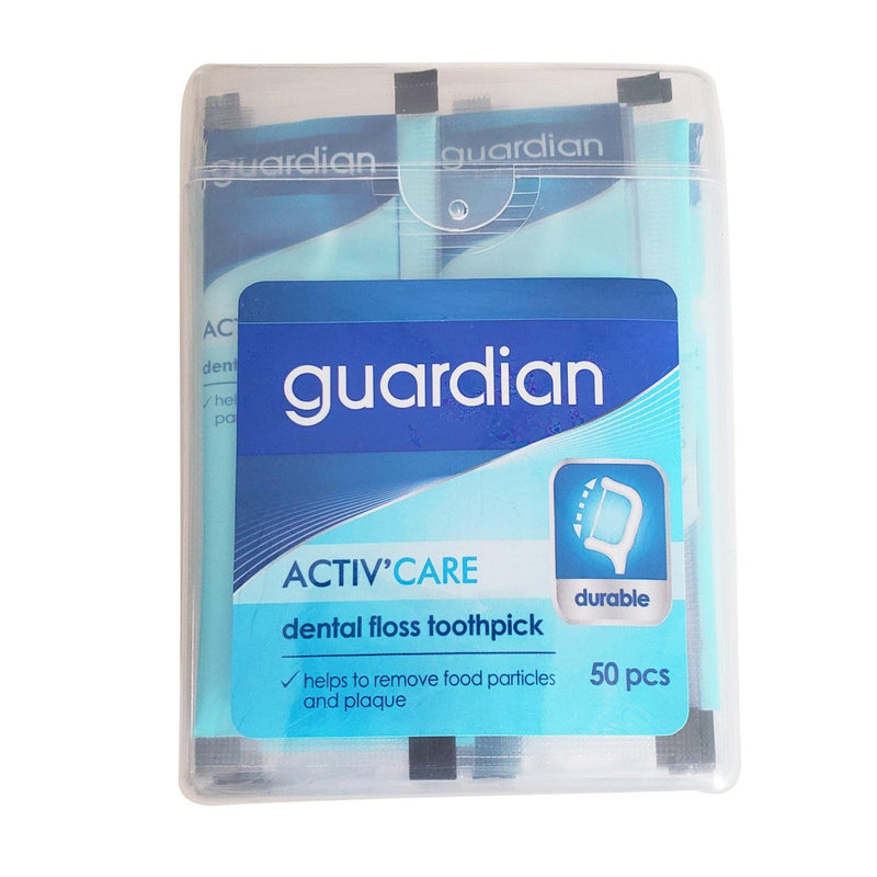 Guardian Activ Care Dental Floss Toothpick - 50s
