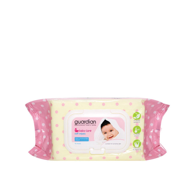 Guardian Baby Wipes Chamomile 90s
