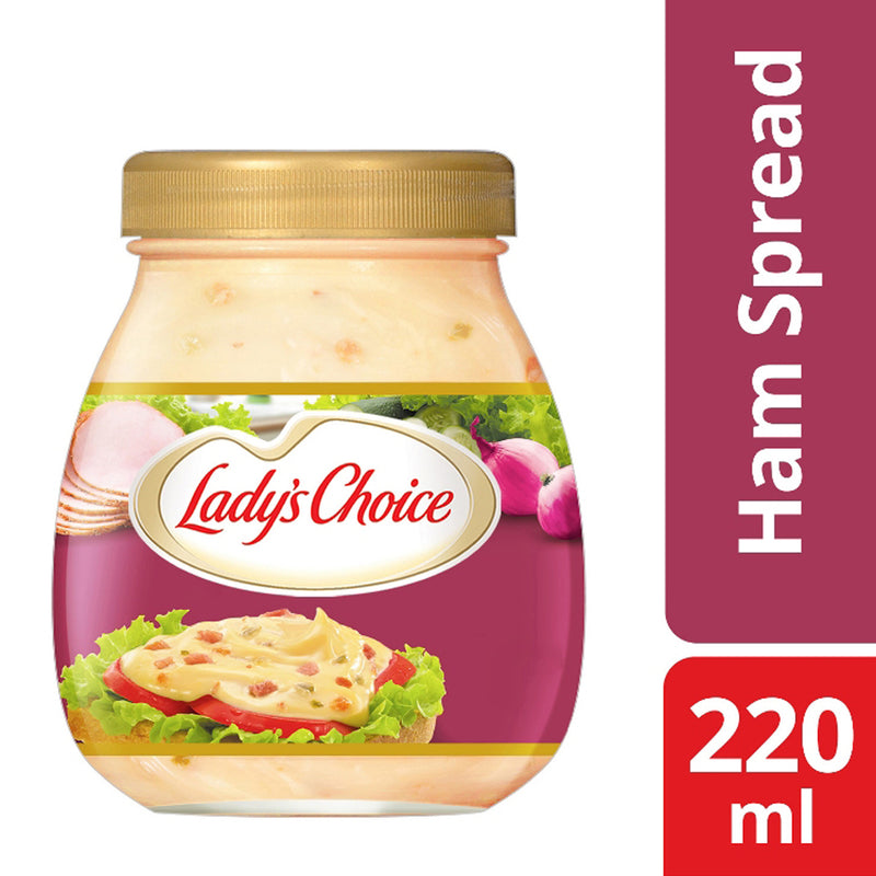 Lady's Choice Ham Sandwich Spread 220ml - Southstar Drug