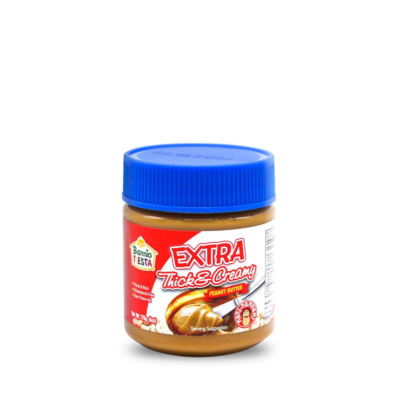 Barrio Fiesta Extra Thick And Creamy Peanut Butter 170 g