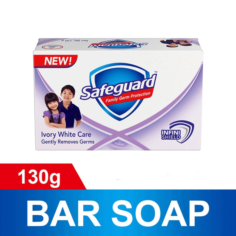 Safeguard Value Pack Ivory White Care Tripid Bar Soap 130 g - 3s