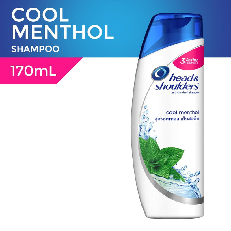 Head & Shoulders Cool Menthol Shampoo 170 ml