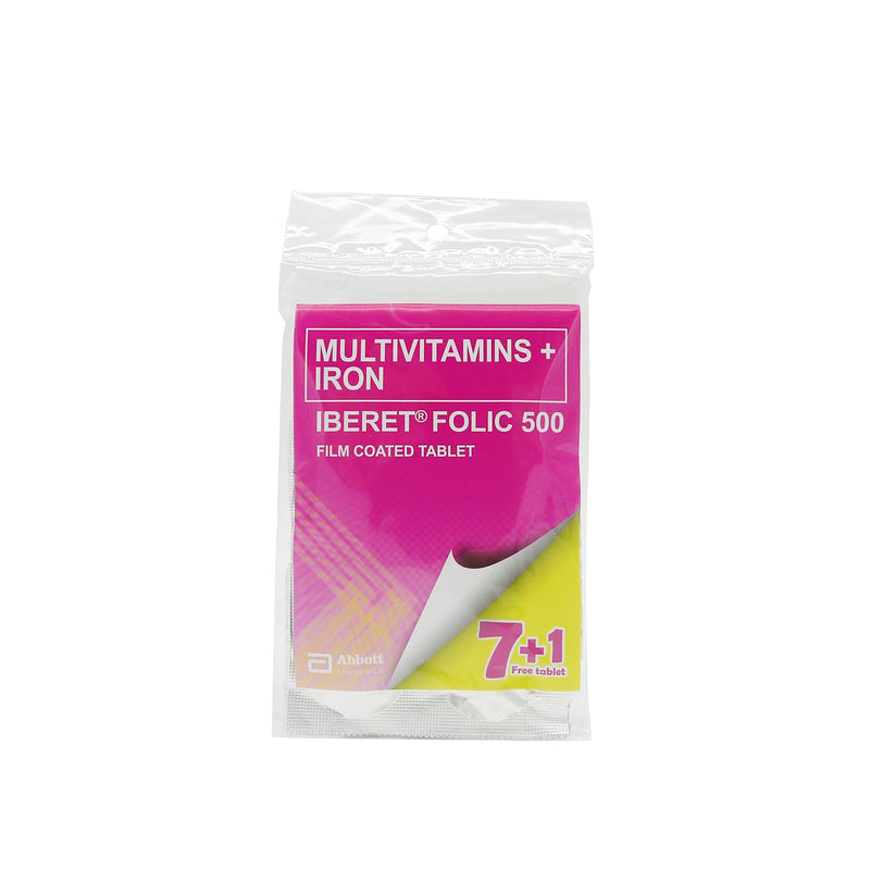 Iberet Folic 7 + 1 500 mg Tablet