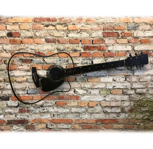 "Vintage Microphone - Metal Wall Art Home Decor - Handmade in the USA - Choose 12"", 17"" or 23"" Tall - Choose your Patina Color! FREE SHIPPING"