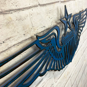 "Air Force Wings - Metal Wall Art Home Decor - Handmade in the USA - Choose 21.5"" or 30"" Wide, Choose your Patina Color! FREE SHIP"