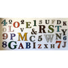 "Letter O with KEYHOLE STANDOFFS - Metal Wall Art Home Decor - Made in the USA - Measures 30"" tall x 28.8"" wide  - Choose your Patina Color! - Free Ship"