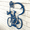 "Road Bicycle - Metal Wall Art Home Decor - Handmade in the USA - Choose 14"", 17"" or 23"" Tall - Choose your Patina Color - Free Ship"