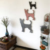 "Chihuahua - Metal Wall Art Home Decor - Handmade in the USA - Choose 11"", 17"" or 23"" Wide - Choose your Patina Color - Free Ship"