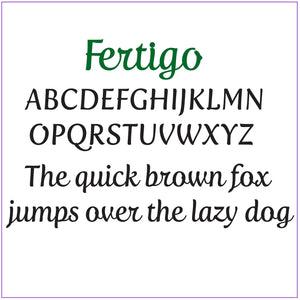 Custom Name or Word - Fertigo Font - Small Size - Metal Wall Art Home Decor - Choose your Patina Color - FREE SHIPPING