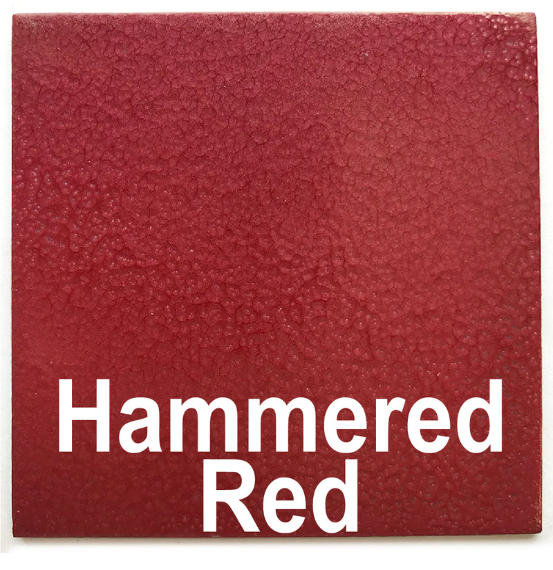 Hammered Red piece - 3