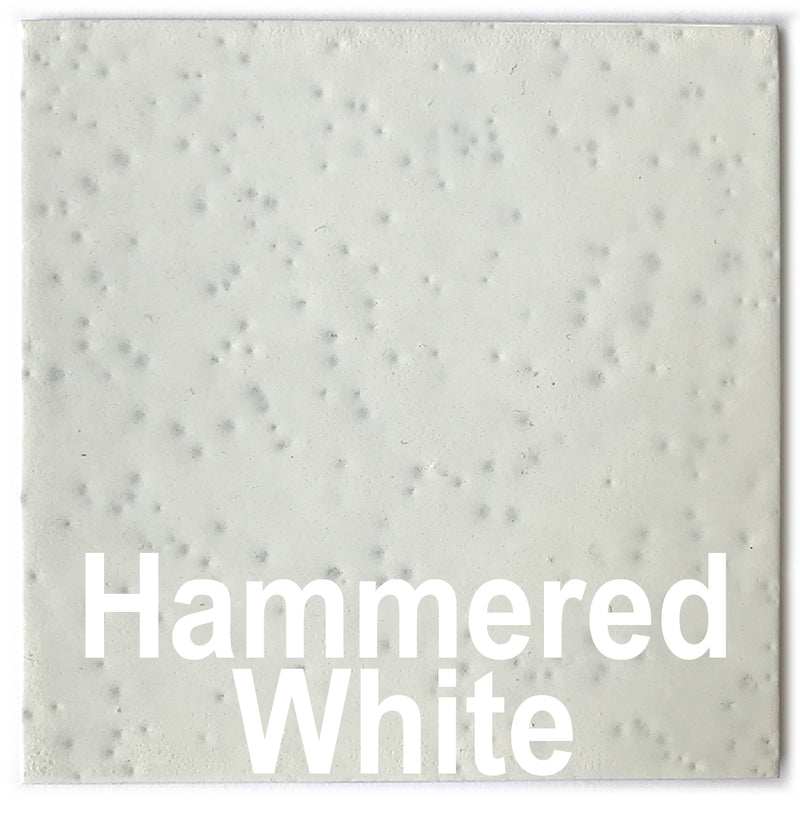 Hammered White piece - 3