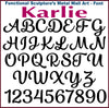 "Letter M - Karlie Font - Metal Wall Art Home Decor - Made in USA - Choose 8"", 12"" or 16"" Tall - Choose Patina Color! Choose any letter FREE SHIP"