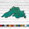 "Lake Superior -  Home Decor - Handmade in the USA - Choose 18"", 23"" or 36"" Wide, Choose your Patina Color! FREE SHIPPING"