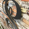 "Letter S - Monogram Font - Metal Wall Art Home Decor - Made in USA - Choose 22"", 24"" or 30"" Tall - Choose Patina Color! Choose any letter FREE SHIP"