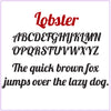 Custom Name or Word - Lobster Font - Small Size - Metal Wall Art Home Decor - Choose your Patina Color - FREE SHIPPING