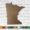 "Colorado - Metal Wall Art Home Decor - Made in the USA - Choose 10"", 16"" or 22"" Wide - Choose your Patina Color! Choose any state - FREE SHIP"