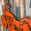 "Motorcycle - Metal Wall Art Home Decor - Handmade in the USA - Choose 25"", 36"" or 45"" Wide Choose your Patina Color! FREE SHIPPING"