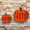 "Pumpkin - Metal Wall Art Home Decor - Handmade in the USA - Choose 8"", 12"" or 17"" Wide"