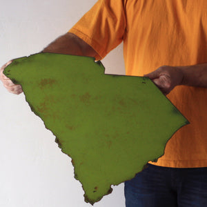 "South Carolina - Metal Wall Art Home Decor - Handmade in the USA - Choose 11"", 17"" or 23"" Wide - Choose your Patina Color! Choose any State Free Ship"