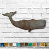 Sperm Whale metal wall art home decor cutout handmade by Functional Sculpture llc