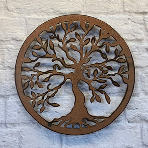 "Tree of Life - Metal Wall Art Home Decor - Handmade in the USA - Choose 12"", 17"" or 24"", Choose your Patina Color - Free Ship"